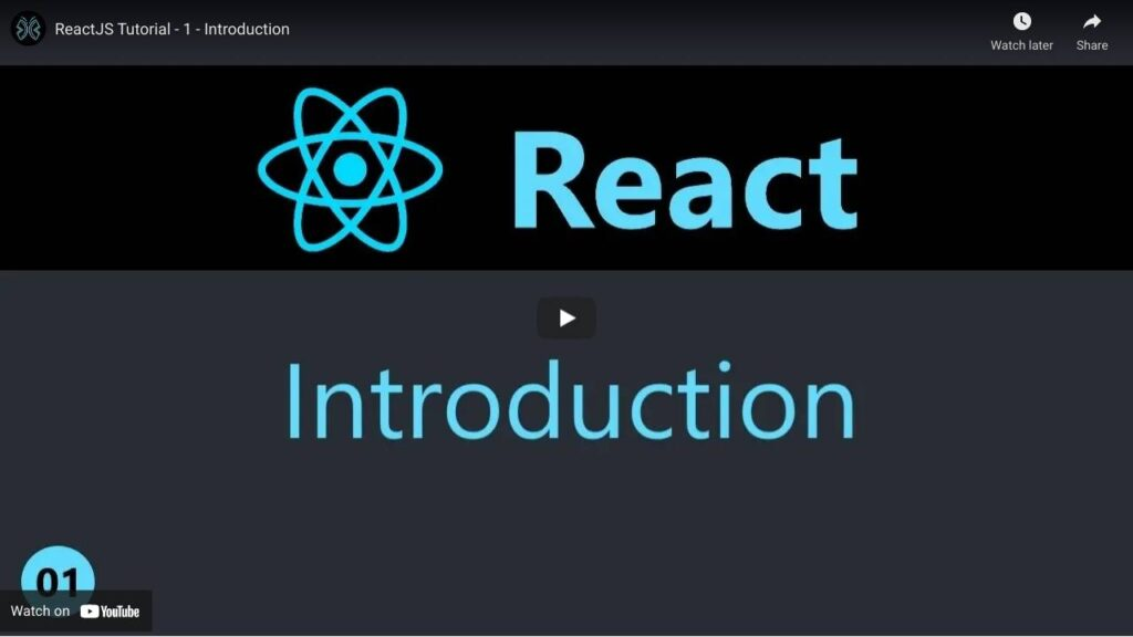 Youtube Channels to Learn React