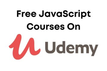 Free JavaScript Courses on Udemy